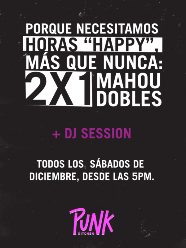2×1 Happy Hour